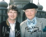 Dudley Sutton & Chris Jury LOVEJOY - Genuine Signed Autograph 11104